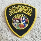 California Department of Corrections Shoulder Patch OS