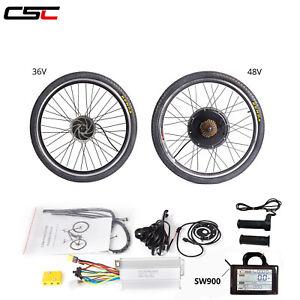48V 500W 1500W Electric Bicycle Motor Kit  20 24 26 inch E-Bike Conversion Kit