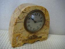 Ancienne petite PENDULE art déco DEP En marbre - Ne fonctionne pas - VB2348