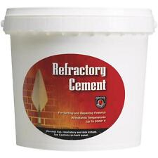 Meeco´s Red Devil Buff Color 1 Gal 3000 Degree Refractory Furnace Cement 611