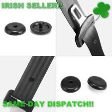 Seat Belt Stopper Clip Retainer Black (5 Pcs) (Irish seller Irish stock)