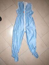 Sommer Schlafsack mit Beinen Overall 122/128 NEU Streifen blau