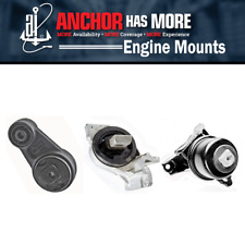 3X Anchor Engine Auto Trans Mount Kit Fits 2007-2009 FORD FUSION V6 3.0L AY30