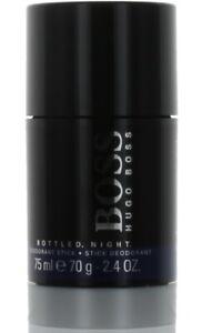 Boss Bottled Night by Hugo Boss for Men Deodorant Stick 2.4 oz. NEW