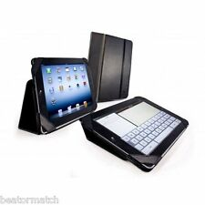 Tuff Luv Type View Leather Smart Case Cover Stand for Apple New iPad 2 3 Black