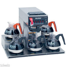 Bunn Commercial Brewer Rt with 5 warmers Coffee Machine Maker Crtf5-35 + Water