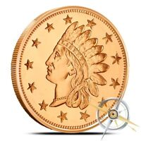 1 oz Copper Round - Indian Penny
