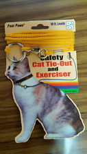 New listing Four Paws Nylon Cat Tie Out Cable 10 ft.