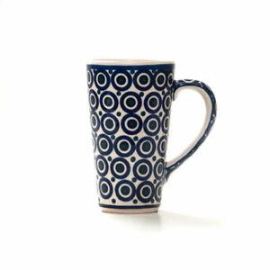 Bunzlauer Keramik Latte Tassen 400ml Dekor 58 Handarbeit