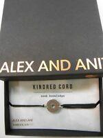 Alex and Ani Kindred Cord SEEK KNOWLEDGE Bracelet Rafaelian Silver NWTBC