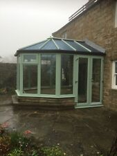 Conservatory -3000X 2800 Victorian - Chartwell green uPVC