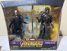 Action Figure, Loki and Corvus Glaive, Walmart Exclusive, Hasbro, Marvel Legends
