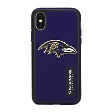 For Apple iPhone X Baltimore Ravens Dual Hybrid 2 Piece Protective Case NFL