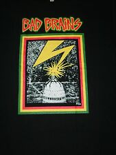 FREE SAME DAY SHIPPING BRAND NEW OLD SCHOOL BAD BRAINS WASHINGTON DC SHIRT LARGE