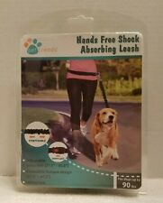 Hands Free Shock Absorbing Bungee up to 90 lbs. Dog Leash Adjustable Waist