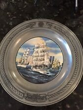 "Vintage""The Tall Ships"" A Salute To America Danbury Mint Limited Edition"