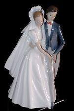 Unforgettable Dance Bride Groom Wedding Love Figurine #1247 Nao By Lladro Box