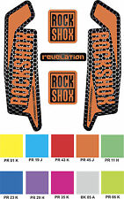 RockShox REVELATION 2015 2016 Style Decals Stickers - Custom