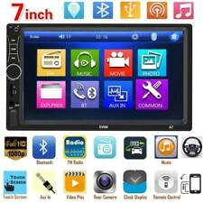 Double 2DIN 7in Touch Screen Car Stereo MP5 Player Bluetooth AUX U Disk FM Radio