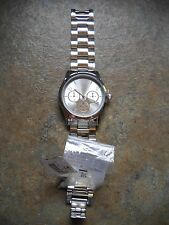 Claire's Claires Silver Women's Japan Movement BOYFRIEND Watch with Instructions