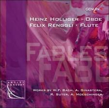 Fables: Works for Oboe & Flute, New Music