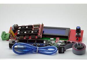 Mini Kossel Delta Reprap 3D Printer Arduino Mega 2560 Ramps 1.4 A4988 LCD