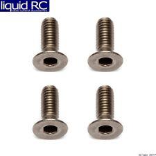 Associated 91592 M3x8mm Titanium FHCS Flat Head Cap Screws (4)