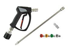 MTM SGS S/Steel Swivel Quick Release Gun&Lance Wash Nozzles To Fit Nilfisk/Stihl