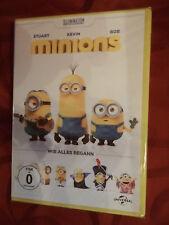 Minions - Wie alles begann - Trick Kinder Familien Kult - DVD - NEU in Folie -