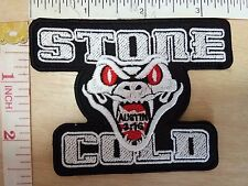 WWE Stone Cold Steve Austin 3:16 Snake Logo embroidered Iron on Patch