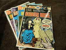 1975 DC Comics - SECRETS Of HAUNTED HOUSE #4, 28, 32 & 40 - Classic Horror Lot