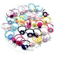 10Pcs Baby KIds Girl Hair Band Ties Rope Ring Elastic Hairband Ponytail Holder