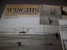 VINTAGE..WRIGHT FLYER 1903..HISTORY/PHOTOS/DETAILS..RARE! (76G)