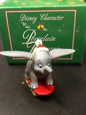 GROLIER Disney DUMBO Porcelain Treasures Ornament MIB NEW