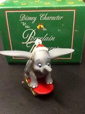 GROLIER Disney DUMBO Porcelain Treasures Ornament MIB NEW
