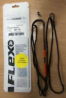 Flex Archery Bowstring With Finger Protection and String Nocks
