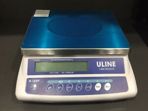 Uline H1649 Counting Scale - 12 Pound Capacity