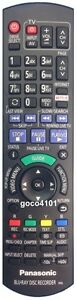N2QAYB001039 GENUINE ORIGINAL PANASONIC REMOTE CONTROL DMR-BWT750 DMR-BWT955 NEW