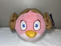 "Angry Birds Star Wars Princess Leia 16"" Pink Plush Stuffed Toy NEW NWT"