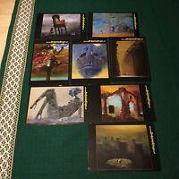 "Set of 8 postcard BEKSINSKI size 5/"" x 7.5/"""