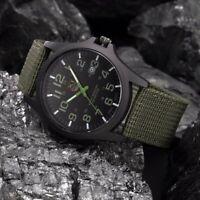 Outdoor Men's Watch Stainless Steel Military Sport Analog Quartz Wristwatch