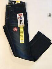 New Signature by Levi Strauss Boys Skinny Dark Denim Jeans 10 Regular Adjustable