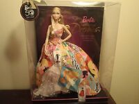 BARBIE GENERATIONS OF DREAMS 50TH YEAR ANNIVERSARY DOLL .2008 NEW
