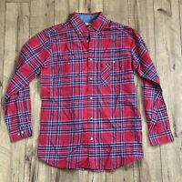 Backpacker Apparel Men's Medium Flannel Plaid Cotton Shirt NWOT 100% Cotton