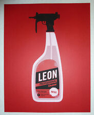 Olly Moss *LEON: THE PROFESSIONAL* 2012 85/100 Screen Print