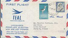 T0755 - NOUVELLE ZÉLANDE Une Enveloppe Poste Aérienne 1959