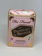 Too Faced Passport to Bronze / Deluxe Bronzers & Flatbuki Brush Set