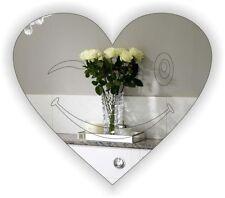 Acrylic Heart Modern Decorative Mirrors