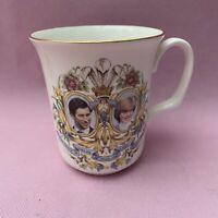 Lady Diana Spencer Prince Charles Coffee Cup 1981 Royal Kent Bone China Wedding
