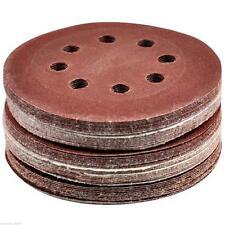 50 x 125MM Orbit Sanding Sand Paper Discs 40,60,80,100,120g Grit Sander